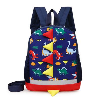 Kids Kindergarten School Dinosaur Boy Backpack