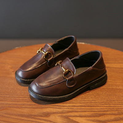 Kids Formal Casual Performances Leather Shoes
