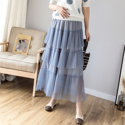 Maternity Clothing Casual Loose Cake Hip Skirt