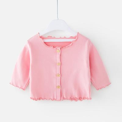 Baby Clothing Newborn Thin Coat Super Cute Top Cardigan