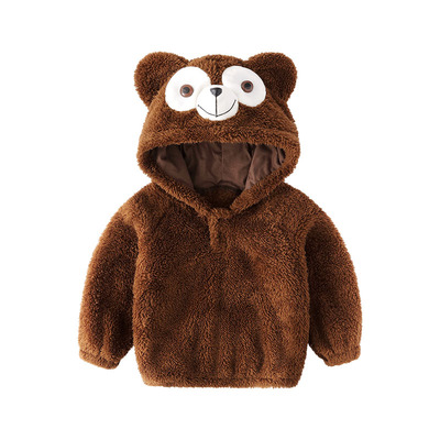 Baby Clothing Warm Bear Coat Jacket
