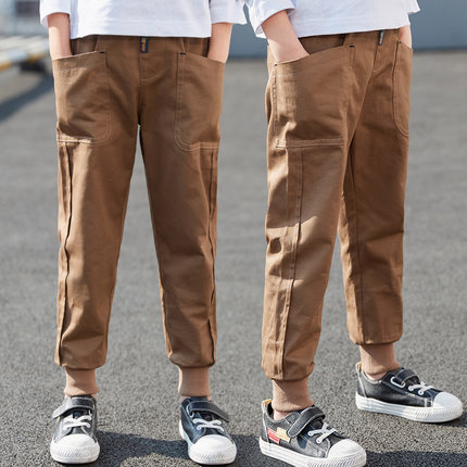 Kids Clothing Boy Fashion Casual Long Slim Pants