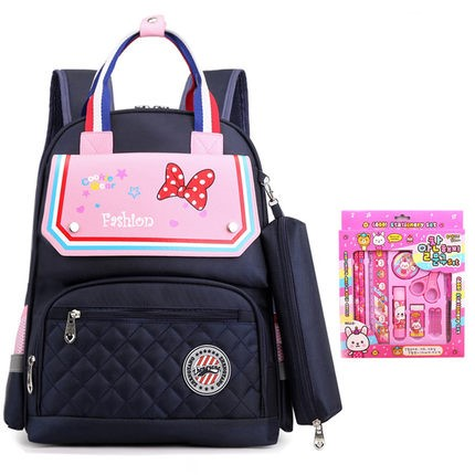 Kids Cute Lightweight Girls Student Splash-proof Backpack