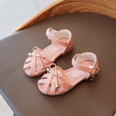 Kids Breathable Princess Baby Sandals Hollow Slippers