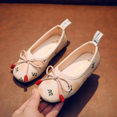 Kids Breathable Soft Bottom Princess Peas Shoes