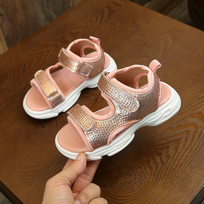 Kids Breathable Soft Bottom Boys Big Children Baby Beach Shoes
