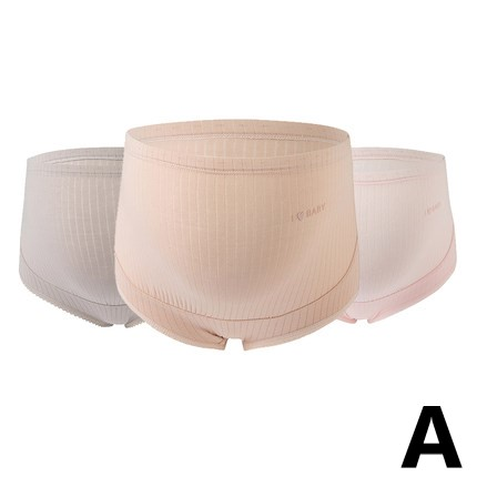 Maternity Clothing Cotton High-waist Stomach Lift Underwear