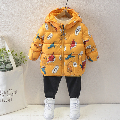Baby Clothing Cotton-padded Warm Thin and Light Jacket