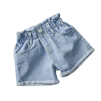 Kids Clothing Loose Casual Girl Wear Jeans