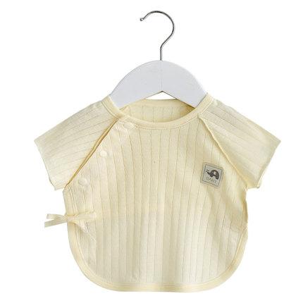 Baby Clothing Newborn Summer Cotton Half-back Short-sleeved Shirt