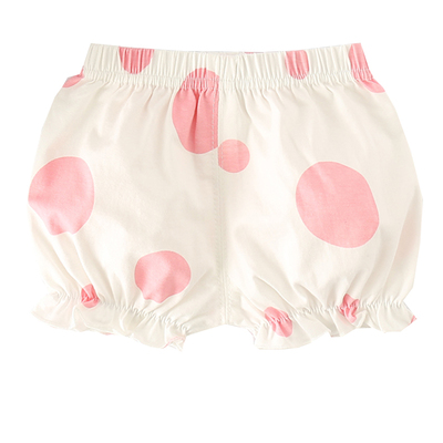 Baby Clothing Bud Pants Cotton Dotted Shorts