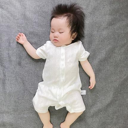Baby Clothing Short-sleeved  Casual Summer Soft Pajamas