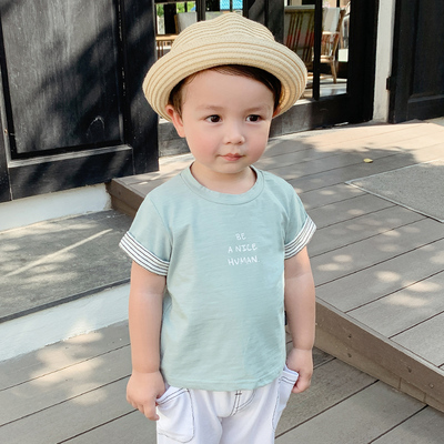 Kids Clothing Casual Short-sleeved Cute Shirt