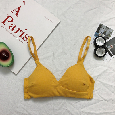 Maternity Clothing Comfortable Thin Mold Cup Shoulder Bra