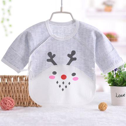 Baby Clothing Newborn Breathable Reindeer Print Shirt