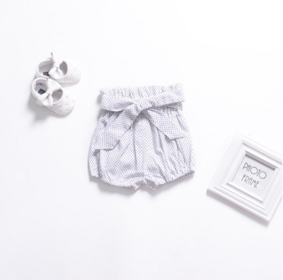 Baby Clothing Newborn Bowknot Bread Pants