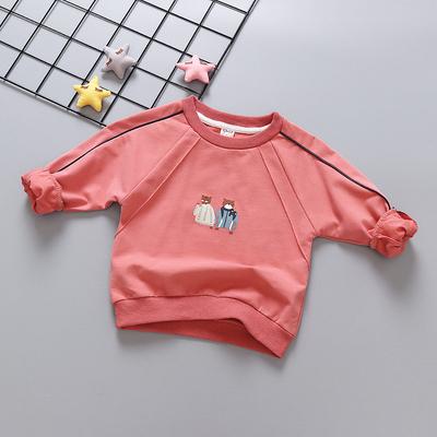 Kids Clothing Cartoon Long-sleeved T-shirt