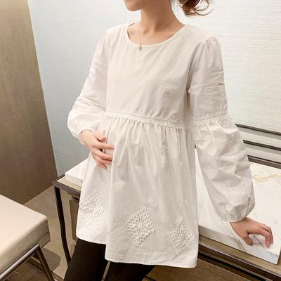 Maternity Clothing Loose Pregnancy Shirt Casual T-shirt