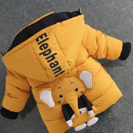 Baby Clothing Long-sleeved Cotton Padded Jacket