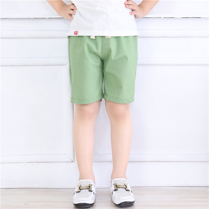 Kids Clothing Casual Cotton Leggings Five-point Pants