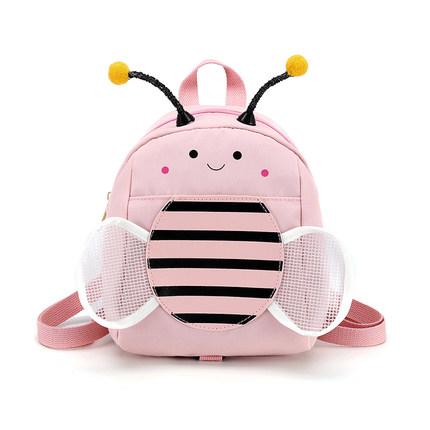 Kids Cute Little Bee Mini Anti-lost Backpack