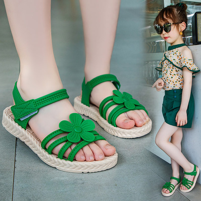 Kids Little Girl Soft Bottom Flowers Fashion Princess Baby Shoes