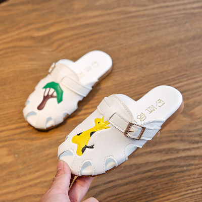 Kids Cartoon Non-slip Soft Bottom Sandals and Slippers