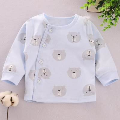 Baby Clothing Newborn Boys and Girls Bear Pattern Shirt