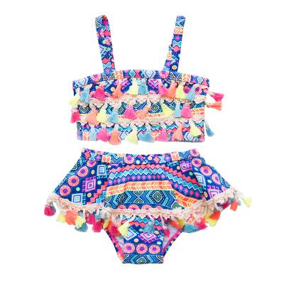 Baby Clothing Ethnic Style Girl Beach Swimsuit