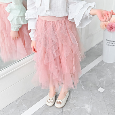 Kids Clothing Summer Princess Mesh Skirt
