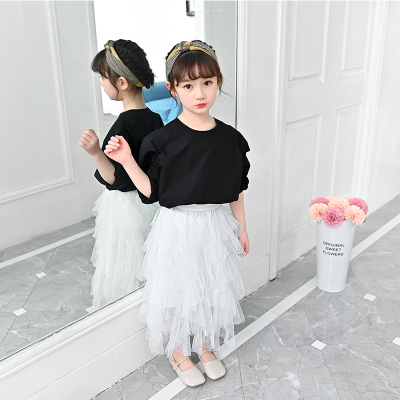 Kids Clothing Summer Princess Mesh Skirt