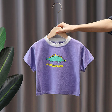 Kids Clothing Short-sleeved Casual Outdoor Shirt