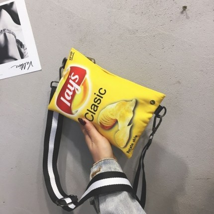 Kids Kindergarten Small Bag Cute Potato Chips Backpack