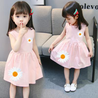 Kids Clothing Summer Little Daisy Princess Skirt Dress