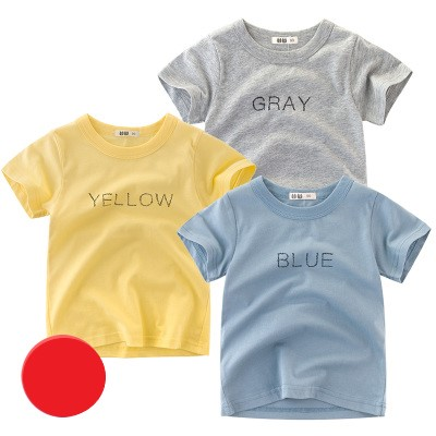 Kids Clothing Short-sleeved Foreign Baby Clothes Three-piece Package
