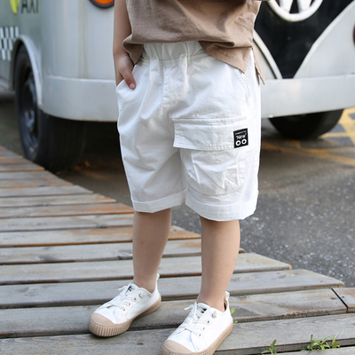 Kids Clothing Five-point Summer Shorts