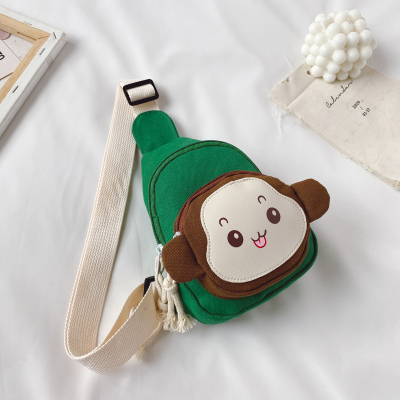 Kids New Monkey Cartoon Shoulder Crossbody Bag