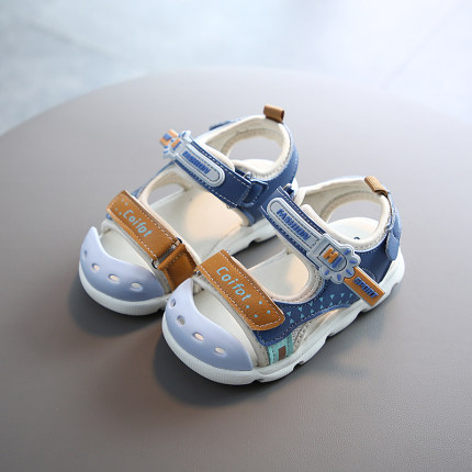 Kids Anti-kick Microfiber Leather Casual Baby Shoes