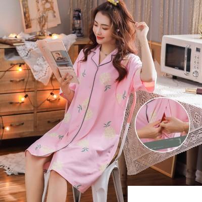 Maternity Clothing Short-sleeved Cotton Prenatal Pregnant Women