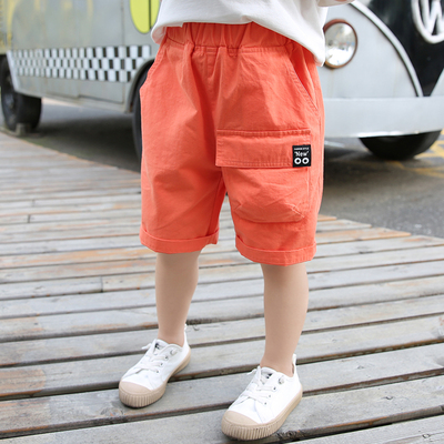 Kids Clothing Summer Casual Five-point Pants