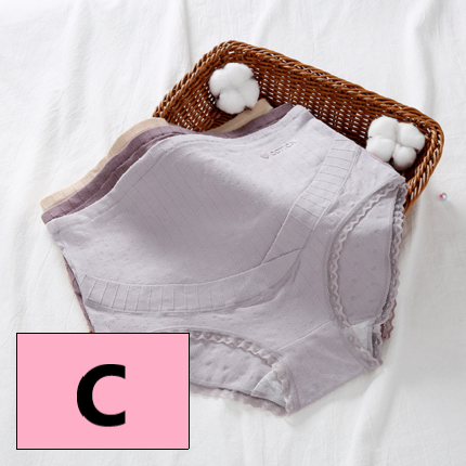 Maternity Clothing Cotton Antibacterial Pregnancy High Waist Stomach Lift Underwear