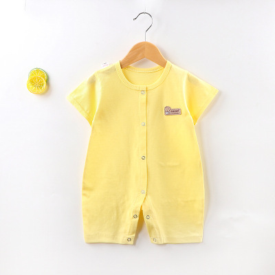 Baby Clothing Summer Short-sleeved Romper Cotton Suit