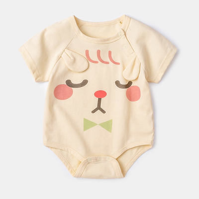 Baby Clothing Triangle Robe Bodysuit Pure Cotton Climbing Suit