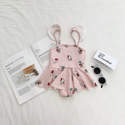 Baby Clothing Summer Princess Hello Kitty Swimsuit Dress