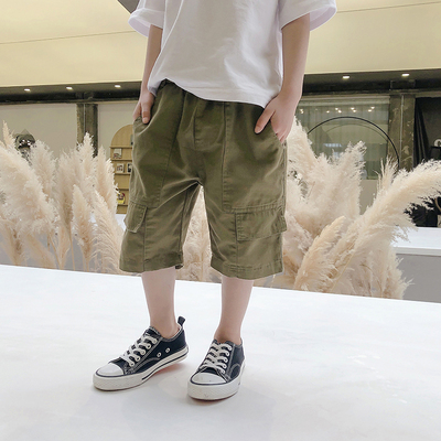 Kids Clothing Boys Casual Pants Summer Boy Shorts