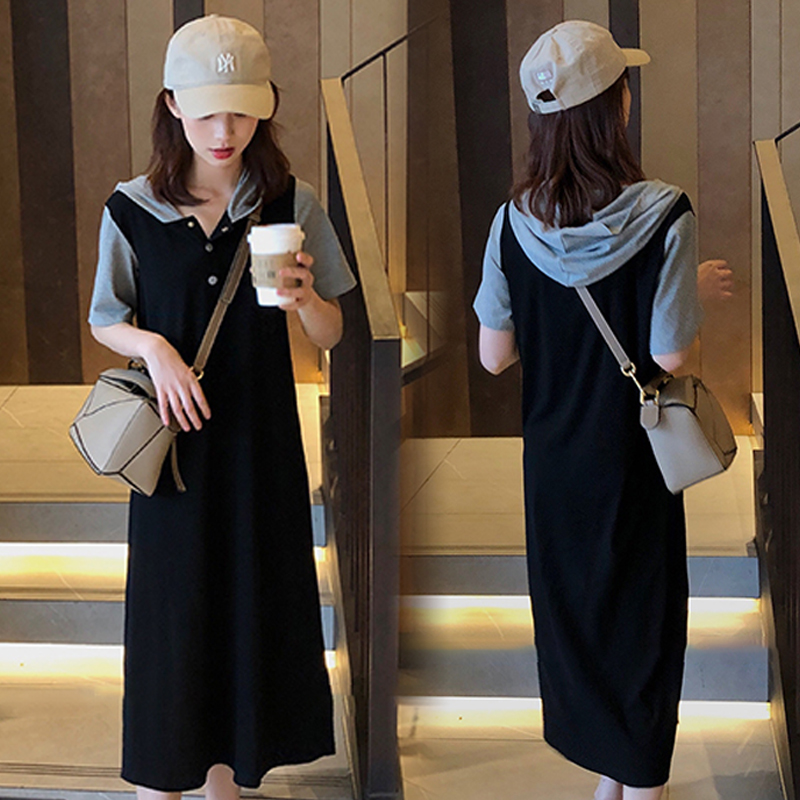 Maternity Clothing Summer Chiffon Skirt Pregnant Dress