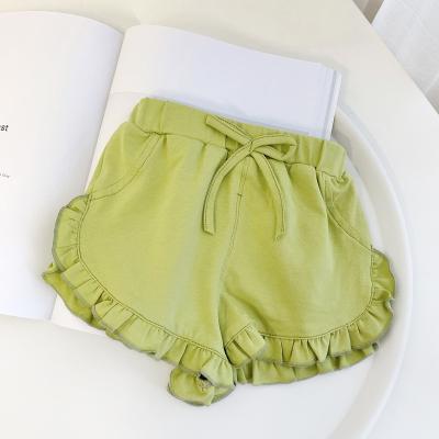 Baby Clothing Newborn Ruffled Shorts Summer Casual Pants
