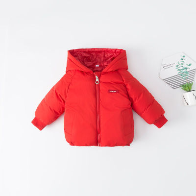 Baby Clothing Long Sleeves Thickened Winter Jacket
