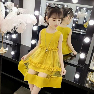 Kids Clothing Baby Summer Princess Skirt MeshDress
