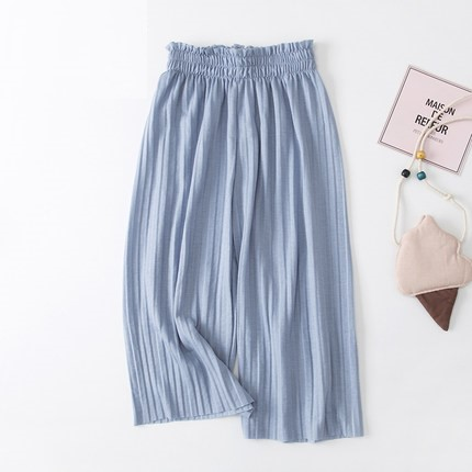 Kids Clothing Wide-leg Long Loose Pants